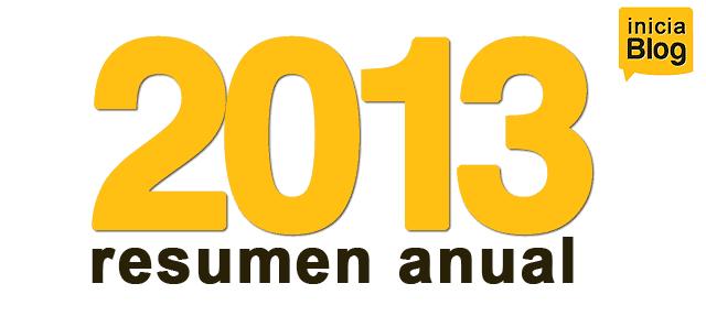 resumen anual 2013. iniciaBlog