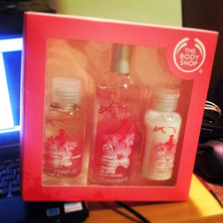 the body shop, body shop, pink, Japanese Cherry Blossom, perfume