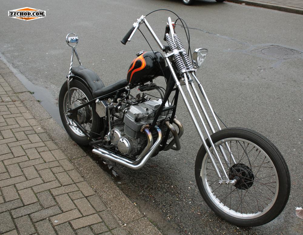 Zz Chop Honda Chopper