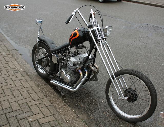 Zz chop honda chopper for Honda of frisco