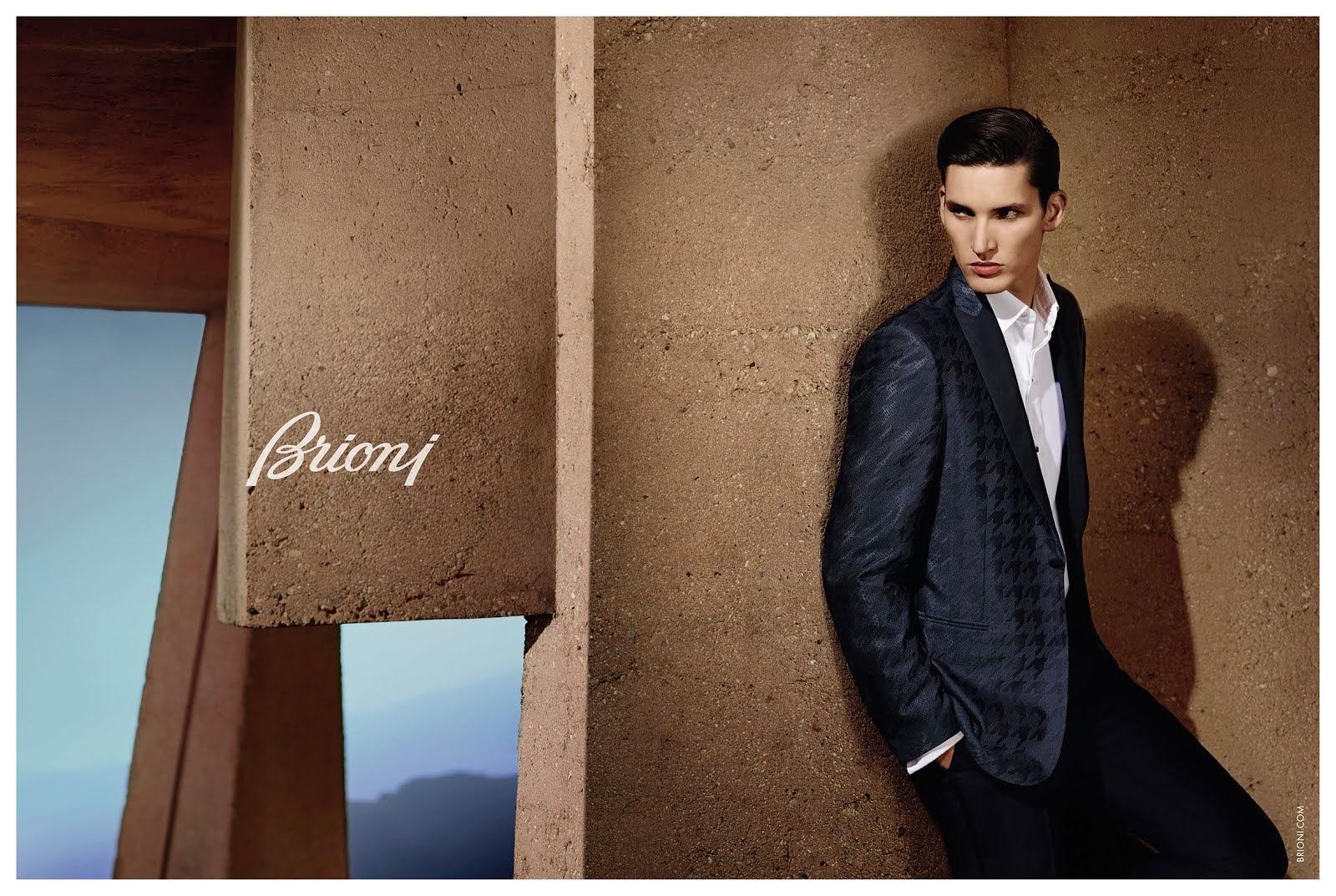 BRIONI  Campaign S/S 2015