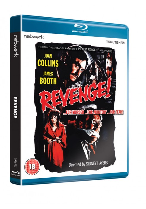 REVENGE OUT ON BLU-RAY / DVD OUT NOW!