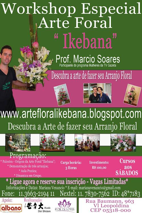 Primeira Edição Workshop de Ikebana na Albano.
