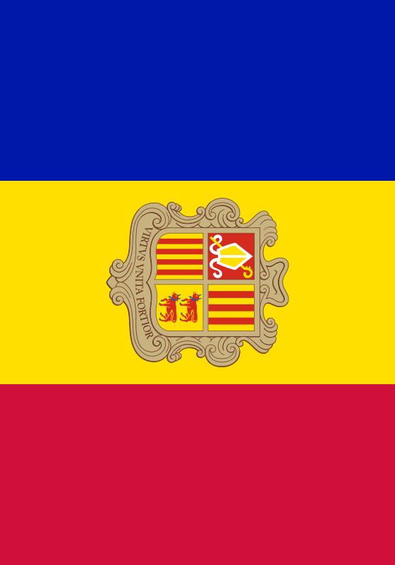 bandera de Andorr para