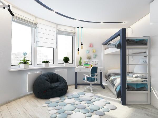 4 mẫu phòng ngủ đẹp cho trẻ em tại dự án Central Point Mỹ Đình 10