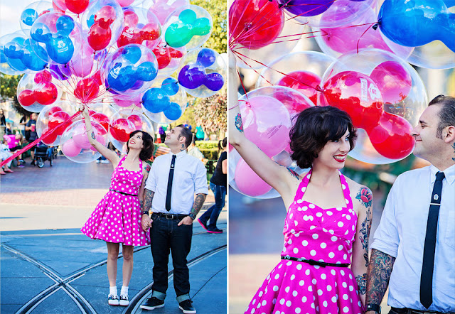 Disneyland Engagement Shoot - Lacey and Paco