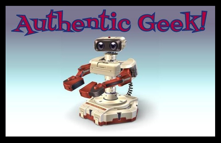 Authentic Geek!