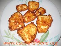 cucina pugliese - ricotta fritta