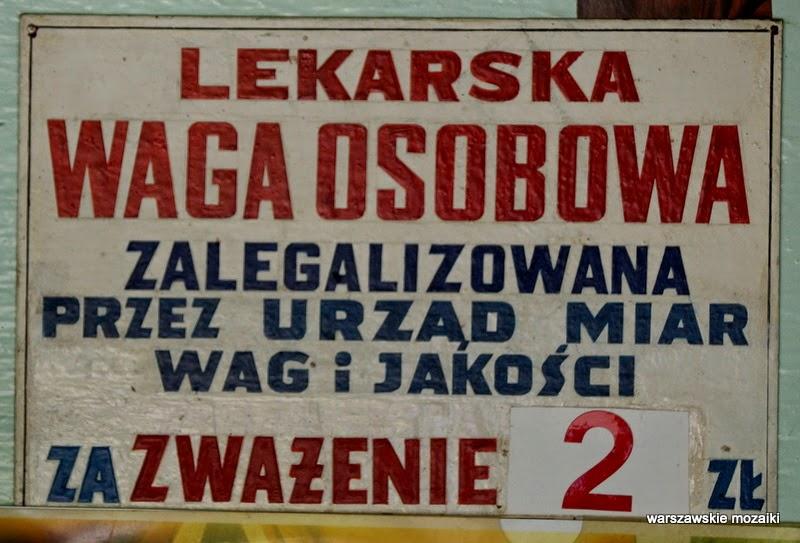 Śródmieście Warszawa park zabytek ważenie waga osobowa lekarska