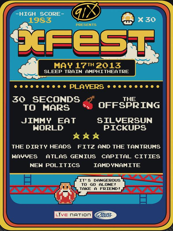 91X Announces X Fest 2013