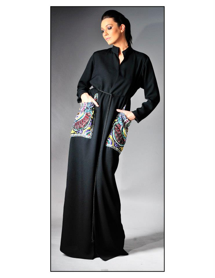 Dubai Fashion Abaya Design