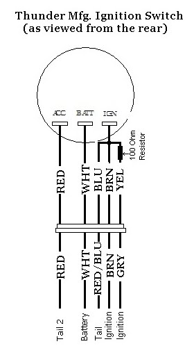 tear it up fix it repeat wire a harley or thunder switch on a rh tearitupfixitrepeat blogspot com Wiring Diagram 2005 Kawasaki Vulcan 800 Kawasaki Vulcan 750 Wiring Diagram