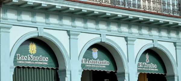 Paladar en La Habana  Los Nardos, El Asturianito, El Trofeo