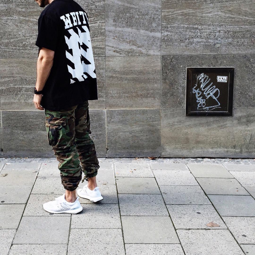 Adidas Ultra Boost White Style Wallbank