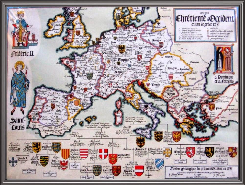 Europa en el año 1235