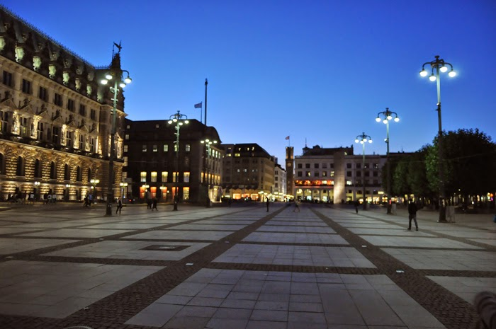 Hamburg Rathausplatz