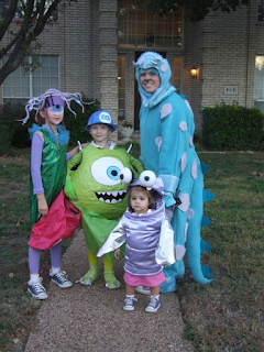 House Of Paint Monsters Inc Halloween Ideas