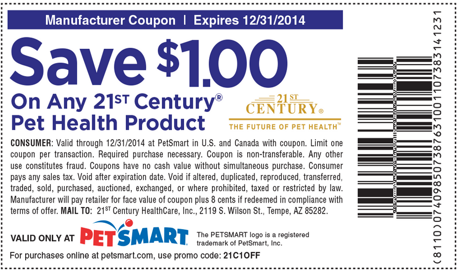 Petsmart coupon $5 2018