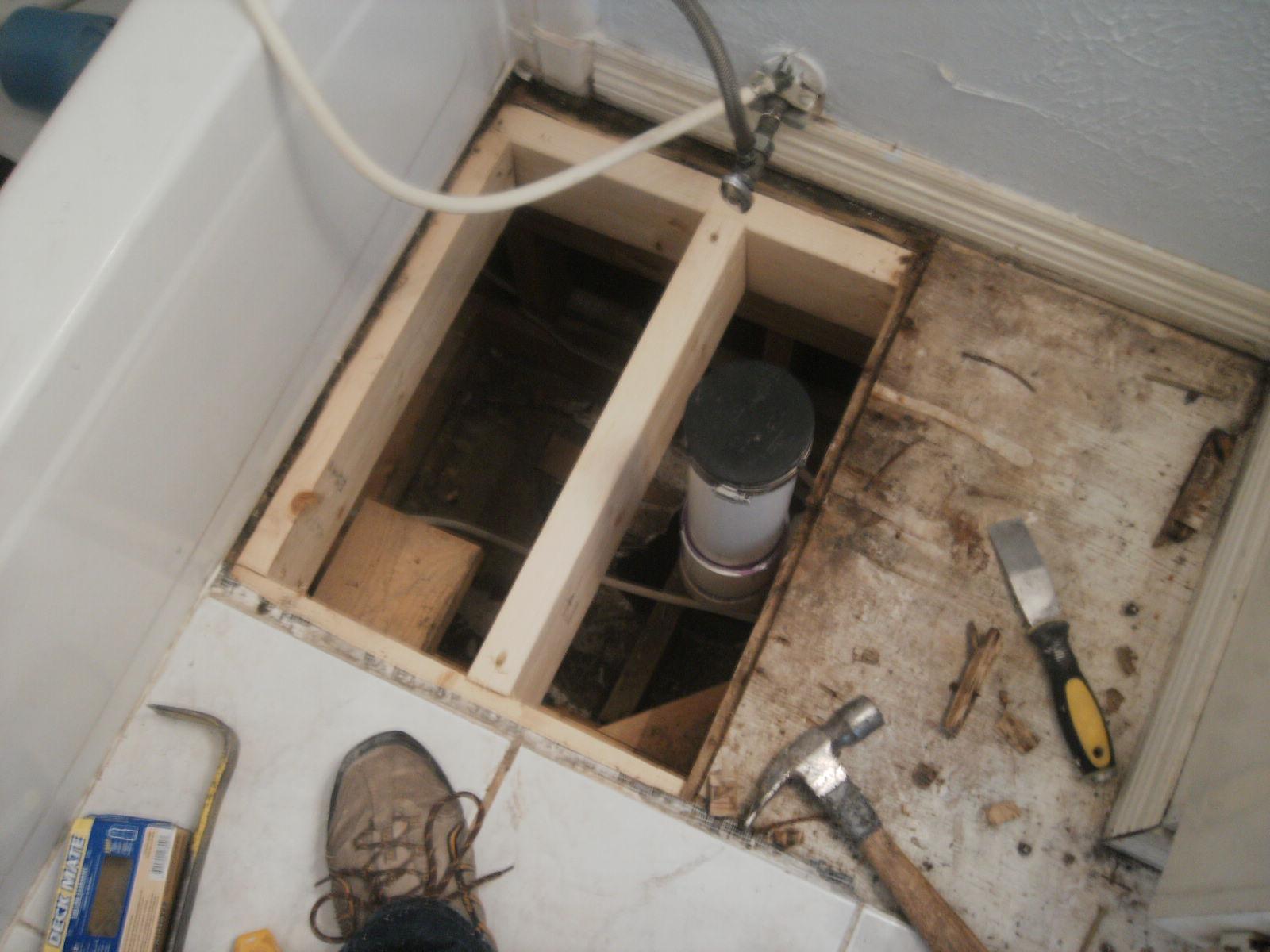 Bathroom Subfloor Repair Home Design Ideas And Pictures