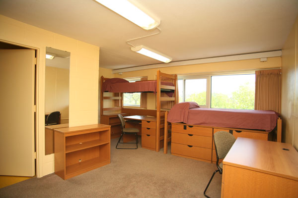 college dorm furniture All traditional-style, suite-style, and apartment-style first-year living centers have the following dimensions: wardrobes: height: 72 inches depth: 24 inches.