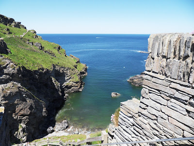Returning to The Haven Tintagel Cornwall