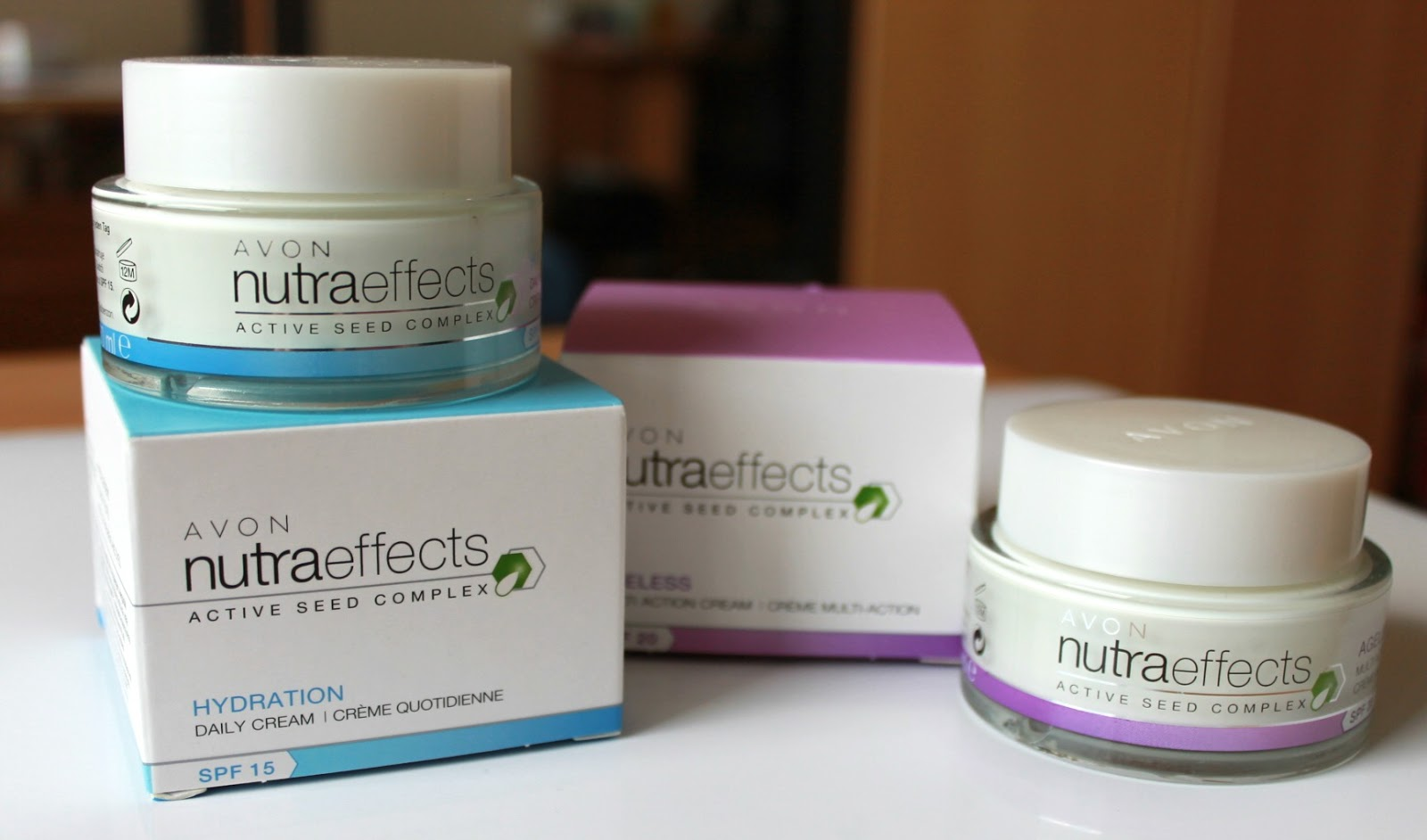 AVON Nutra Effects pleťové krémy