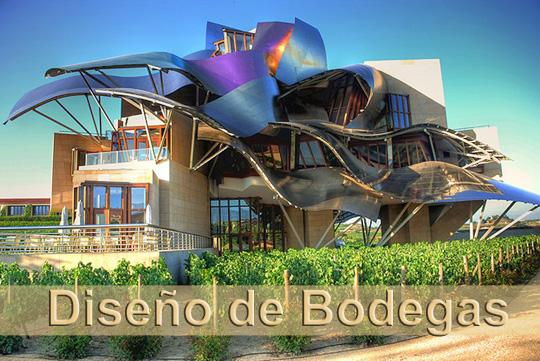 Wine mdq bodegas de dise o verdaderos templos del vino - Diseno de bodegas ...