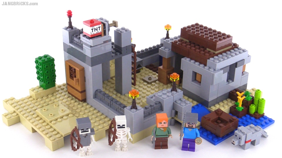LEGO Minecraft The Desert Outpost review! set 21121