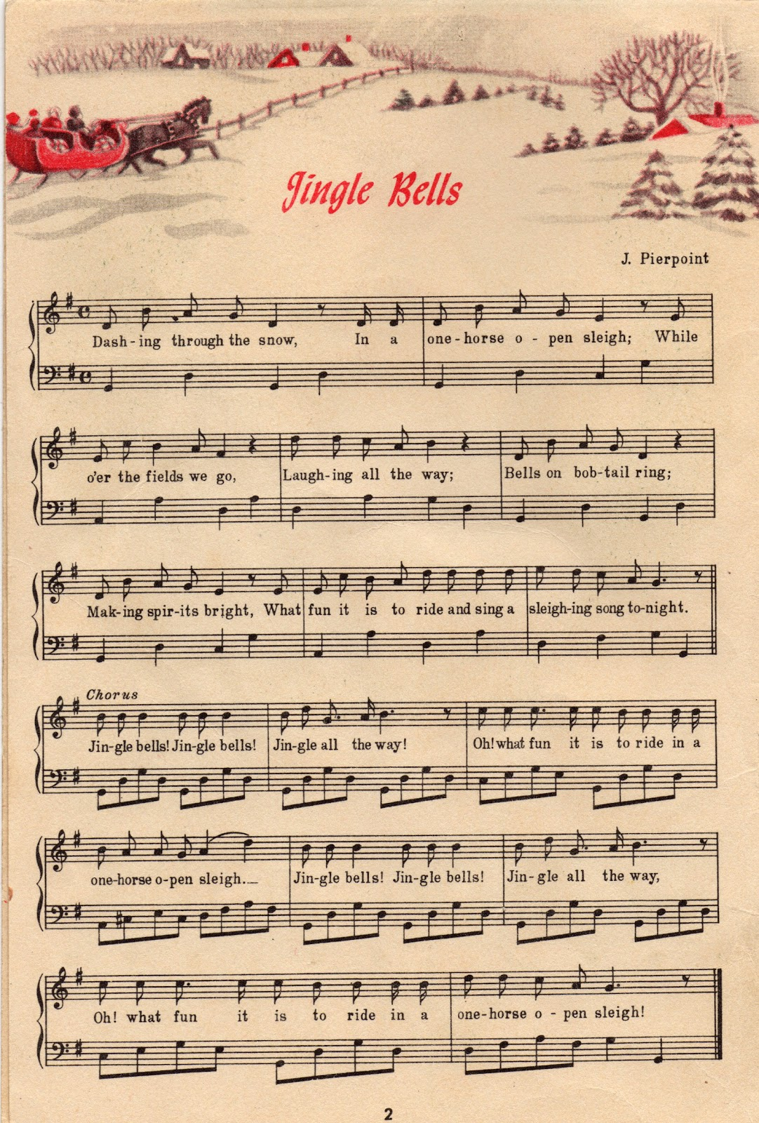 It's just a picture of Delicate Free Printable Christmas Sheet Music