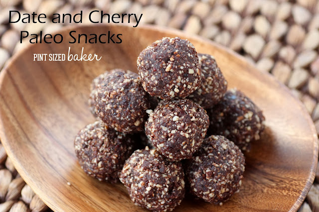 Date & Cherry Paleo Snacks