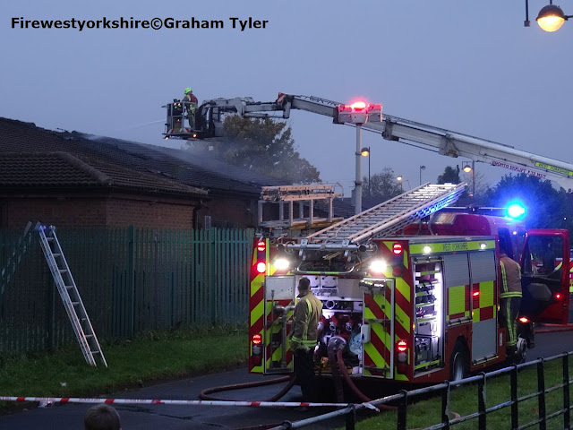 Copgrove Road, Holme Wood, Bradford,Building, Fire Pump and ALP