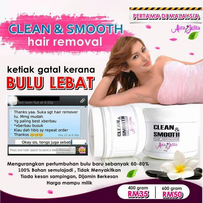 CLEAN & HAIR REMOVAL