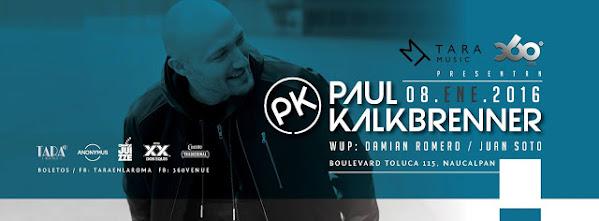 Paul Kalkbrenner de regreso a México