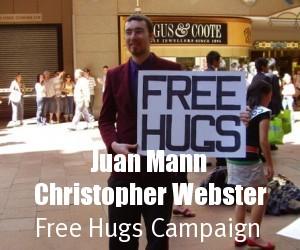 Juan Mann - Free Hugs - Info | Facebook