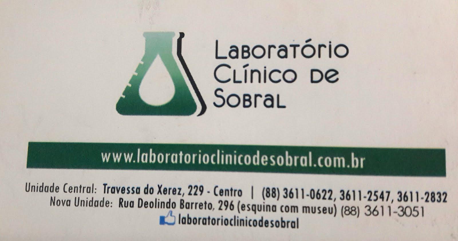 Laboratório Clinico de Sobral
