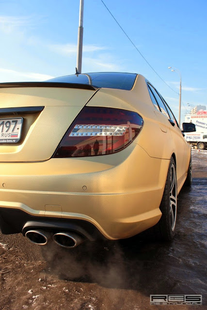 w204 amg exhaust