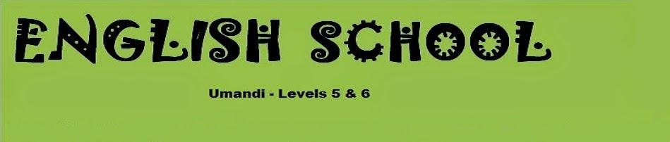 English Blog  Umandi School 5 & 6
