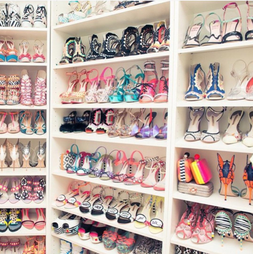 c mo organizar los zapatos rosaframbuesa by ferrussian