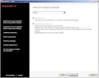 Langkah Cara Install AutoCAD di Komputer WIndows 7,Vista dan Windows XP dengan cepat mudah lengkap disertai gambar untuk desain interior