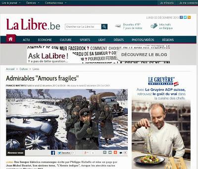 http://www.lalibre.be/culture/livres/admirables-amours-fragiles-529c0ec03570b69ffde618e5
