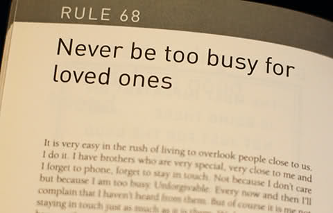 people who are always busy
