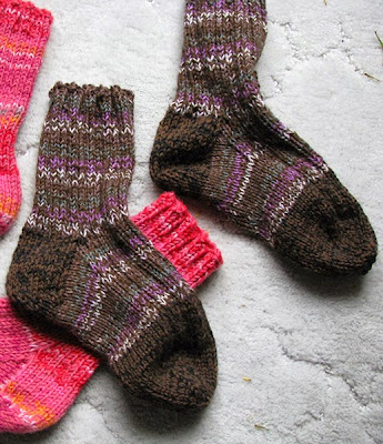 Quick Knit Socks - Free Pattern