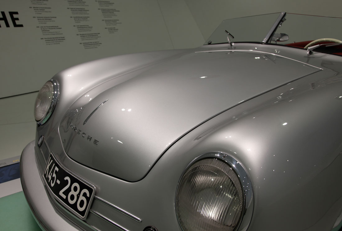 "Porsche 356 No 1 1948 The Porsche 356/1 was the first real Porsche car created by Ferdinand ""Ferry"" Porsche. ... The aluminum roadster body of the Porsche 356/1 was designed by Porsche.Porsche No. 1 Type 356 (mid-engine prototype). Porsche 356 1948 Coupe"