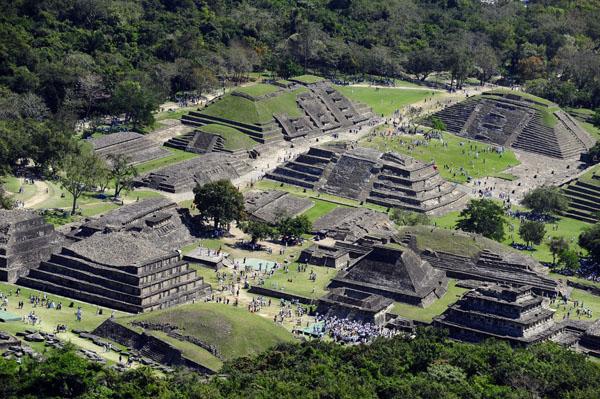 La zona de Tajín - cultura totonaca