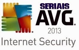 AVG 2013 – Códigos seriais válidos até 2018