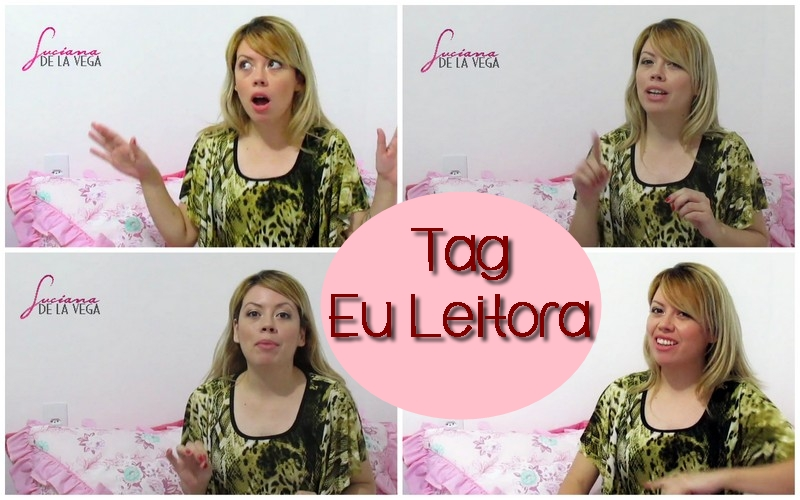 blog, tag, loira de cor de rosa, Luciana De La Vega