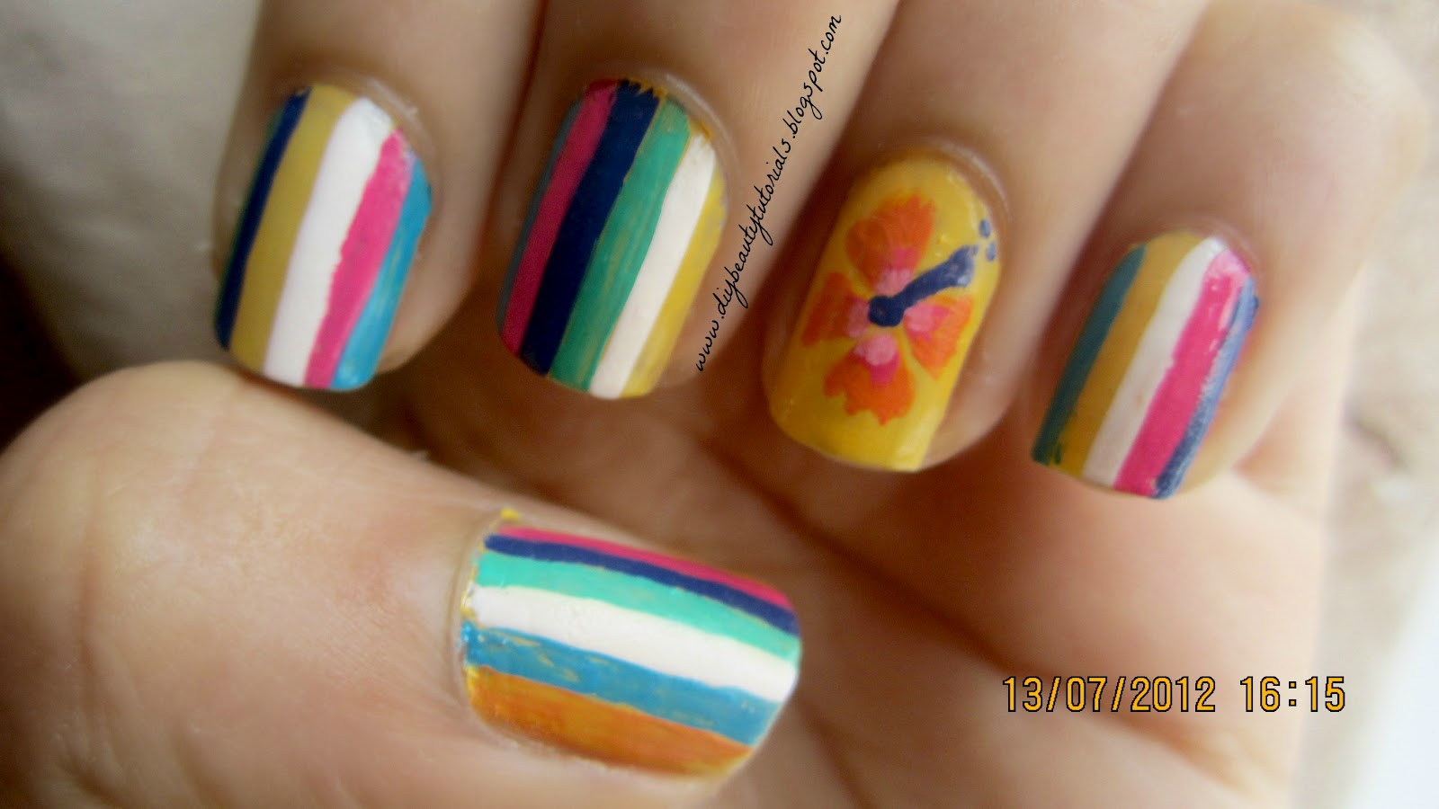 Fabulous Easy Summer Nail Designs Flowers 1600 x 900 · 120 kB · jpeg
