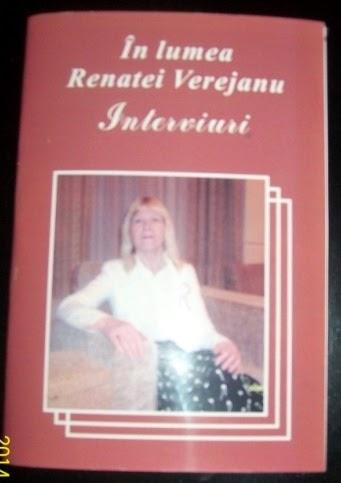 În lumea Renatei Verejanu, Interviuri