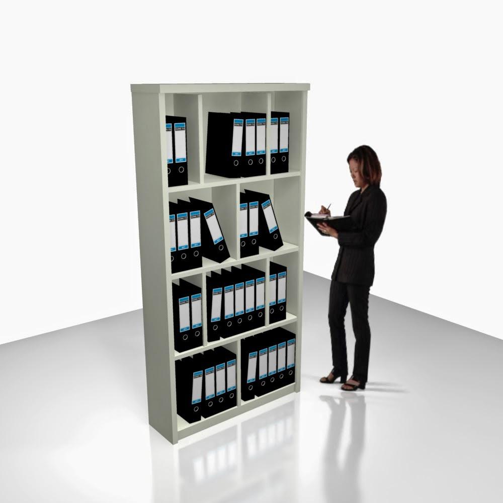 furniture semarang desain lemari arsip terbuka