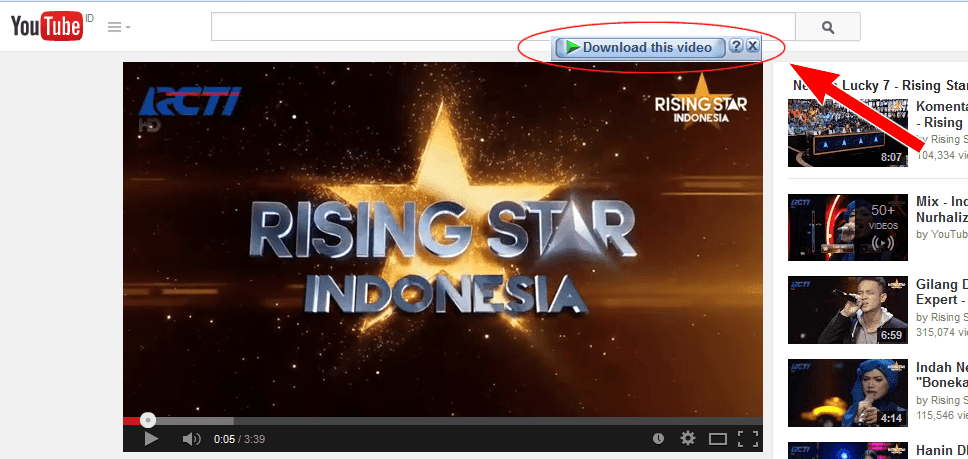 Tombol IDM Tidak Muncul Download Video di Youtube